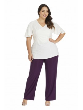 Robin Plus Size Wide Leg Pant with Pocket