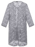 Jackie Straight Jacket in Grey Lace