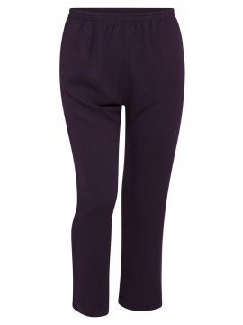 Jackie Pant with Pocket in Mulberry