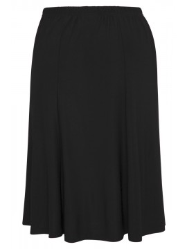 Robin Plus Size A Line Skirt in Black