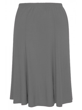 Robin Plus Size A Line Skirt in Grey