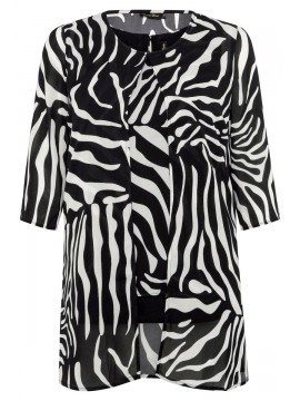 Jackie Camisole and Straight Jacket in Zebra Set