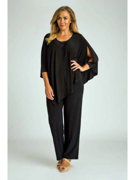 Jersey Open Arm Poncho