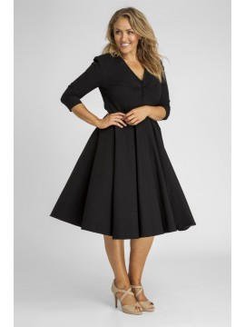 Vintage Julia Dress in Black