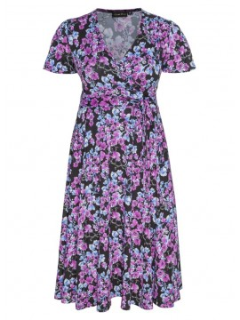 ALL STAR SPECIAL Lilly Plus Size Dress in Blossom
