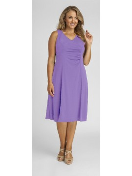 Robin Plus Size Jersey Dress in Lilac