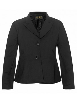 Ladies Plus Size Tailored Jacket in Black