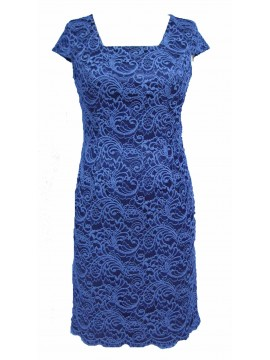 Special Occasion Lace Dress in Blue