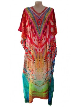 Long Kaftan in Safari (140cm long)