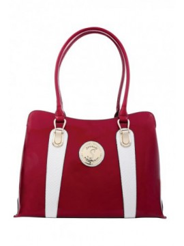 Serenade Ace Patent Leather Tote