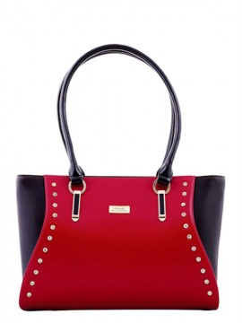 Serenade Bejewel Patent Leather Handbag