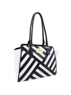 Serenade Le Smoke Patent Leather Tote