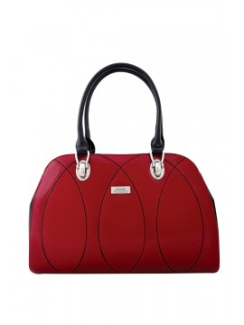 Serenade Red Patent Leather Bag