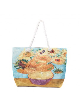 Masterpiece Sunflower Tote Bag