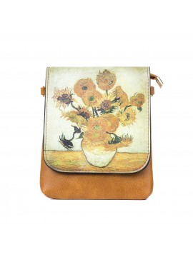 Masterpiece Sunflower Shoulder Bag