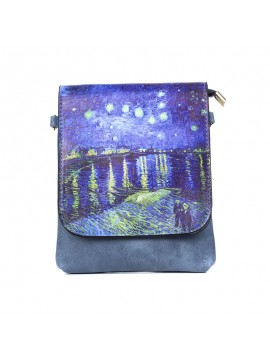 Masterpiece Water Scene Shoulder Bag