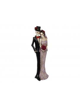 Skeleton Newly Weds Figurine in Gift Box