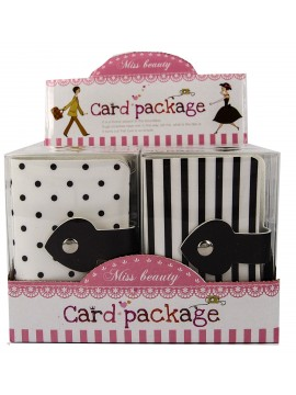 Black & White Card Holder