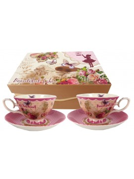 Boxed Tea Cup Set in Tea Party