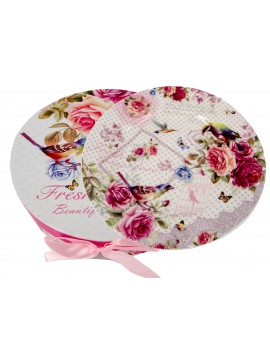 Boxed Side Plates Set of 6 in Floral