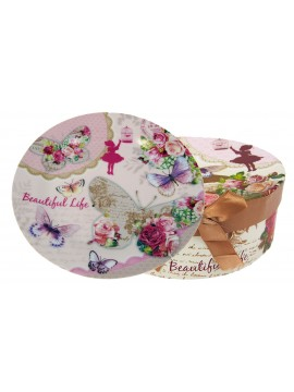 Boxed Side Plates Set of 6 in Tea Party