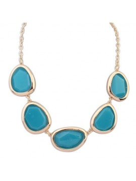 Statement Necklace - Blue