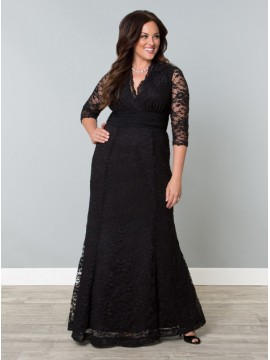 Kiyonna Screen Siren Lace Dress