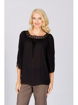 Boheme Top in Black