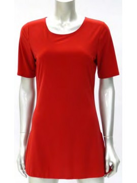 Ladies Korean Jersey Long Cami with 3/4 Length Sleeve