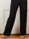Jaki K Jersey Wide Leg Pant with Elastic Waist