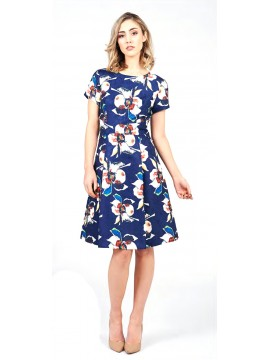 5PM Navy Dress