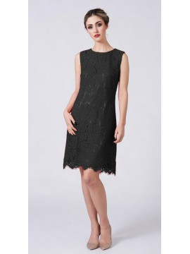 La Scala Black Lace Dress