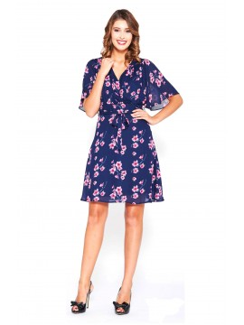 5PM Chiffon Summer Print Dress