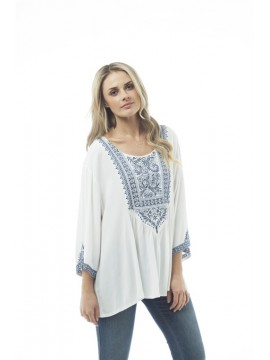 KAJA Embroidered Top