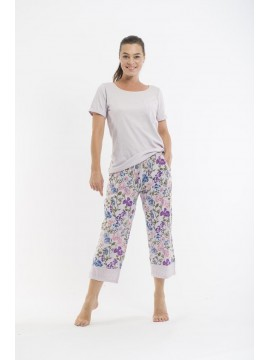 Victoria's Dream Ladies PJ 3/4 Pant Set