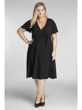 ALL STAR SPECIAL Lilly Plus Size Dress in Black