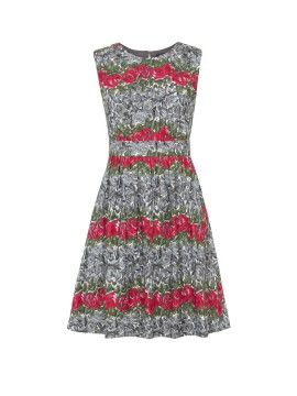 Vintage Lucy Dress in Roses Print