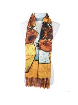 Masterpiece Sunflower Scarf