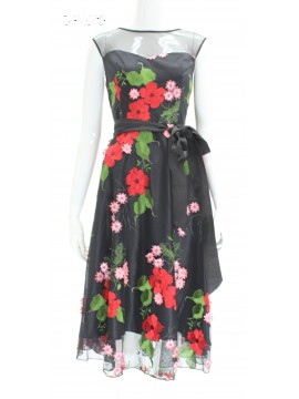 BJC Special Occasion Tea Length Dress