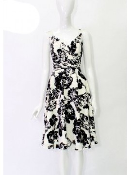 BJC Special Occasion Printed Dress