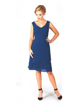 LaScala Special Occasion Dress in Teal