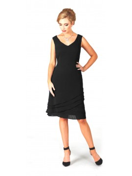 LaScala Special Occasion Dress in Black