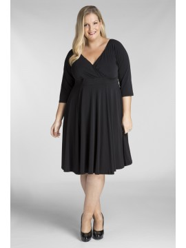 All Star Special Katherine Plus Size Dress in Black