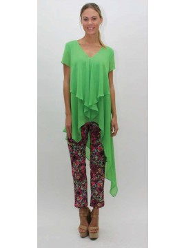 Lovers Ladies Pant Bright Floral