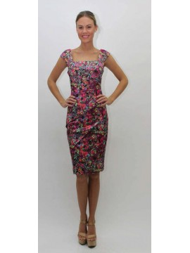 Lovers Ladies Dress Bright Floral