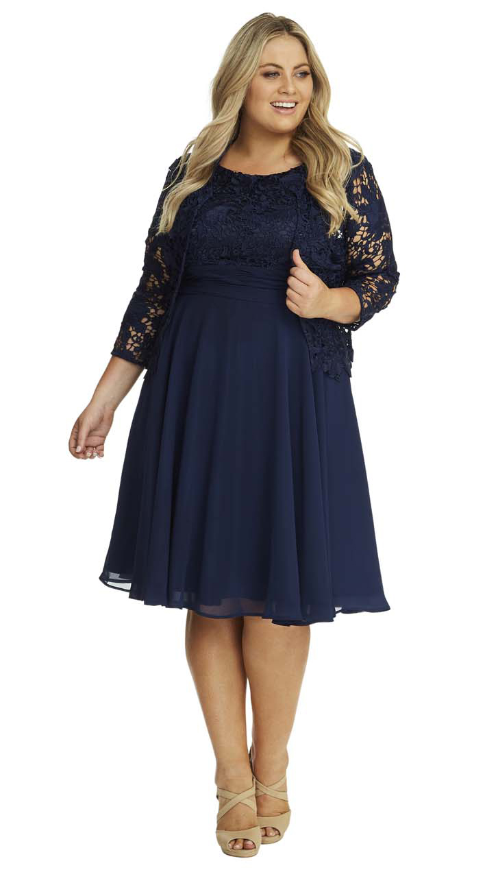 Detroit Plus Size Dress by Unique Vintage