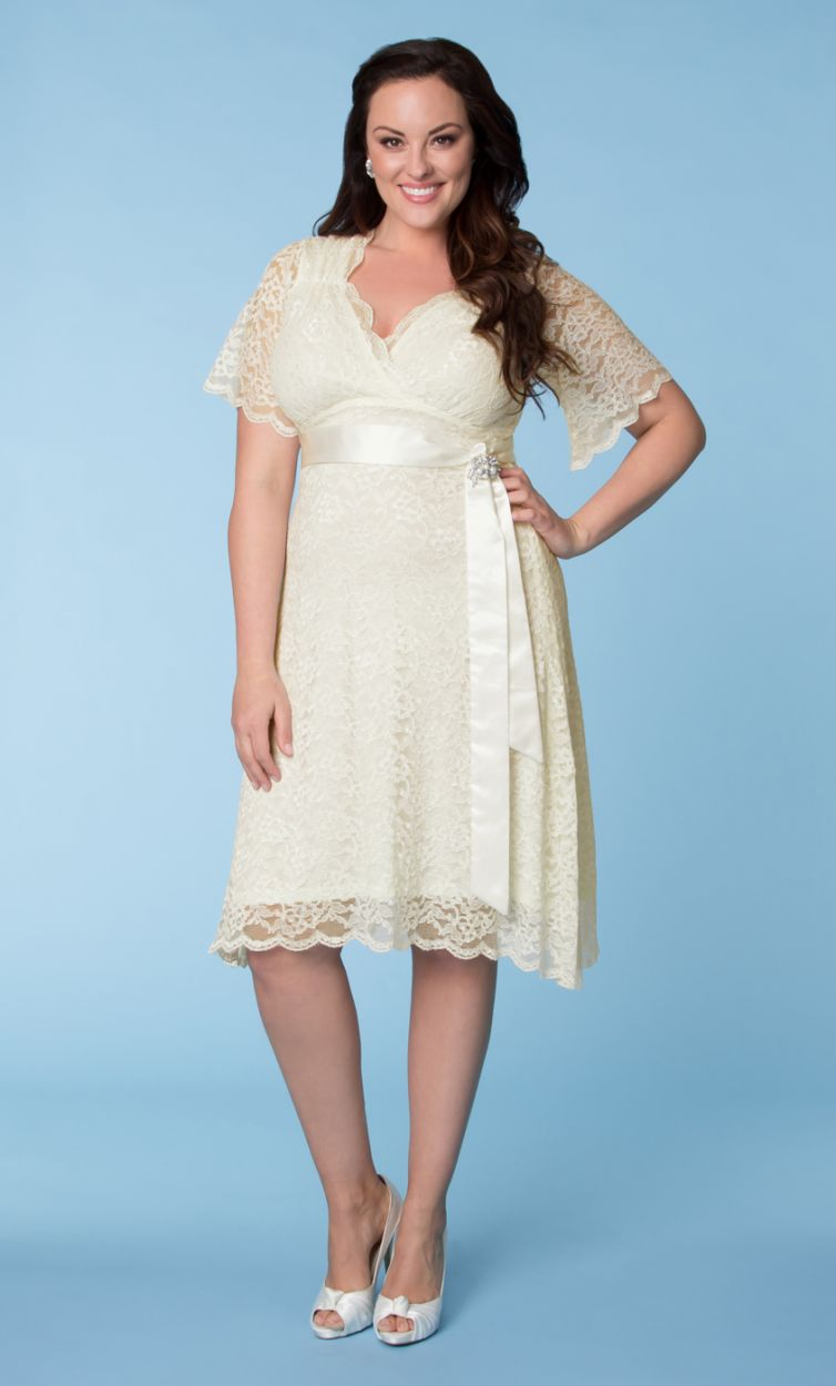 Plus Size Vintage Tea Dresses